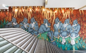 Khadim Ali's The Arrival of Demons, 2017, installation view, The National 2017: New Australian Art, Museum of Contemporary Art Australia, Sydney.