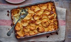 Richard Olney's scalloped potatoes