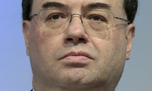 Andrew Bailey, chief executive of the Prudential Regulation Authority