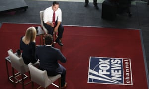 Democratic presidential candidate Julian Castro speaks during a Fox News Channel town hall event on 13 June in Tempe, Arizona.