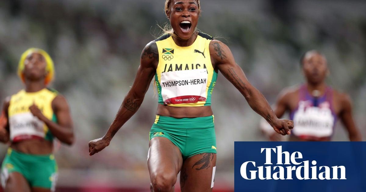 Elaine Thompson-Herah takes stunning Olympic gold in women's 100m
