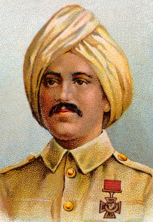 Khudadad Khan, the Muslim soldier who won the Victoria Cross after fighting for Britain with the Indian Army in the first world war.