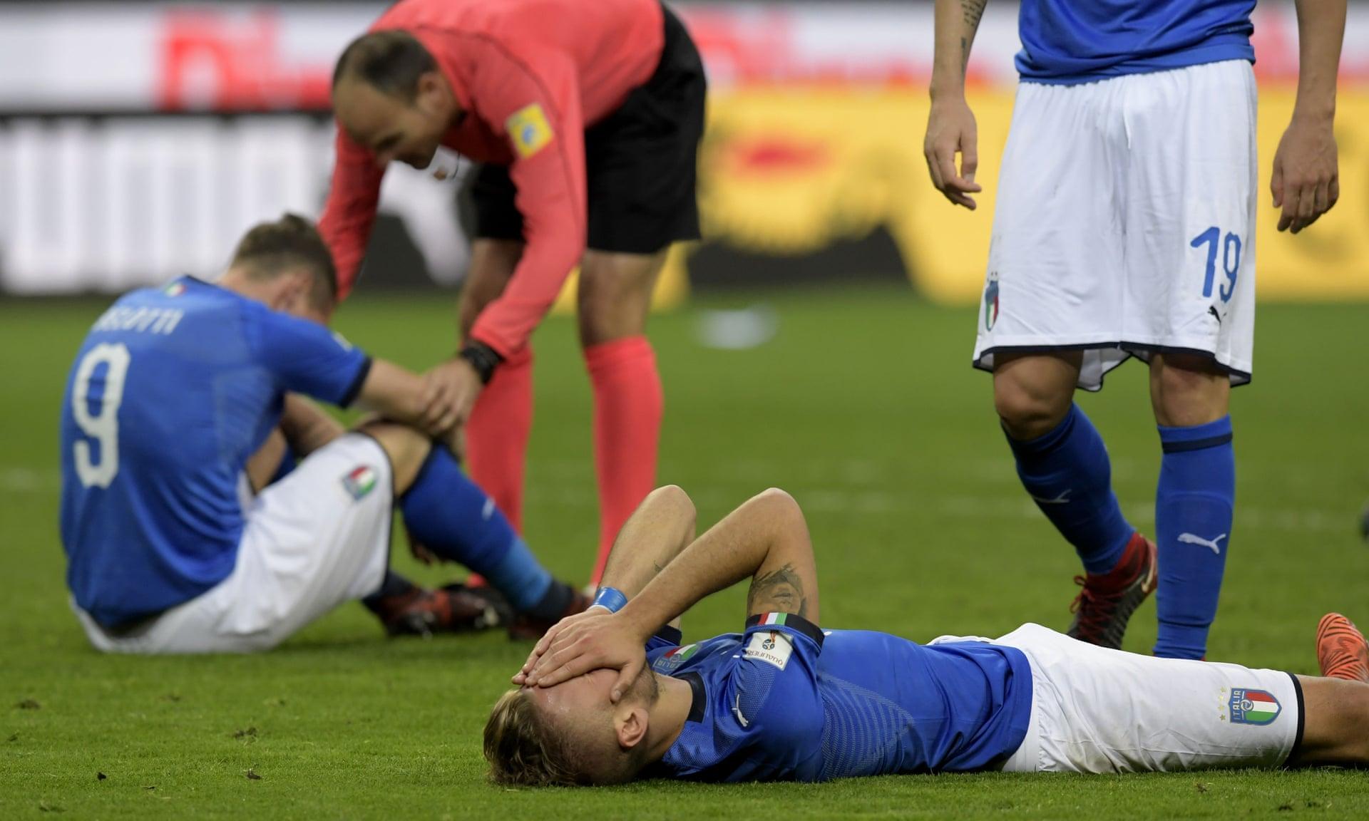 Hình ảnh: Playoff WC: Italy lần đầu tiên không được dự World Cup sau 60 năm. số 2