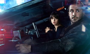 Ryan Gosling with Ana de Armas in Blade Runner 2049