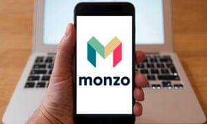 Monzo … popular with millennials.