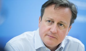 David Cameron said it was time to throw caution to the wind.