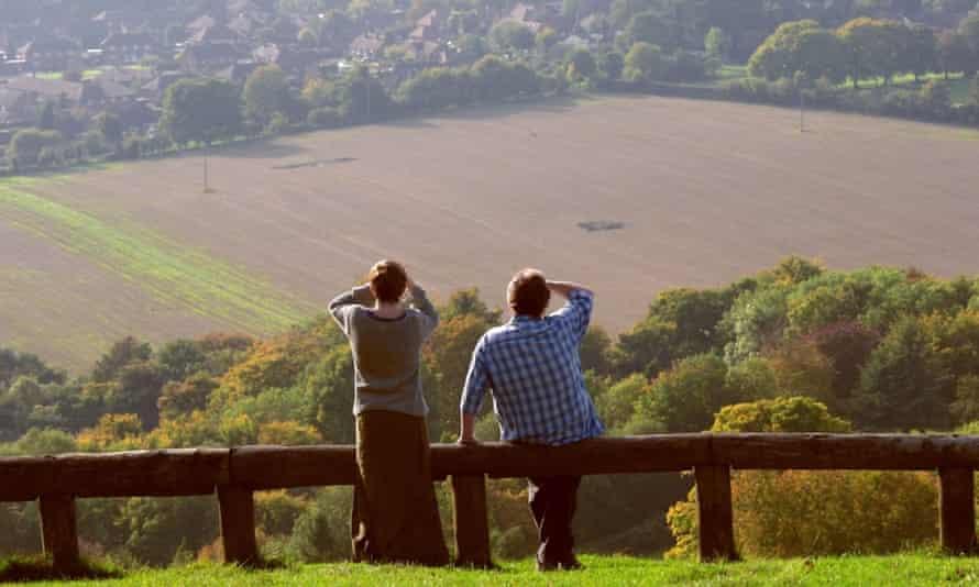 A view from Whiteleaf Hill on the Ridgeway near Princes Risborough.