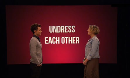 Undressed puts two strangers in a room and forces them to strip.