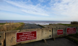 End of the road in Skipsea.