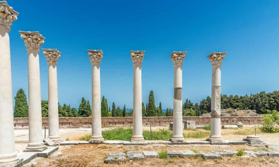 Asklepion pillars