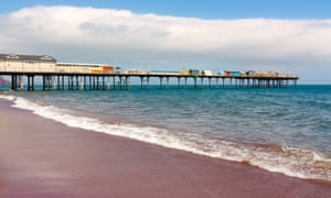 Teignmouth's historic pier.