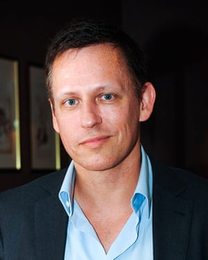 PayPal co-founder Peter Thiel.