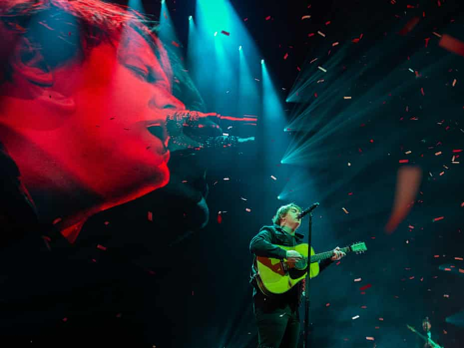 Lewis Capaldi in concert at the SSE Hydro, Glasgow.