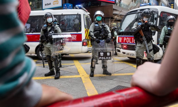 China's military ready to safeguard Chinese sovereignty in Hong Kong protest