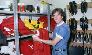 Roy Evans in 1985, when he coached the Liverpool reserve team.