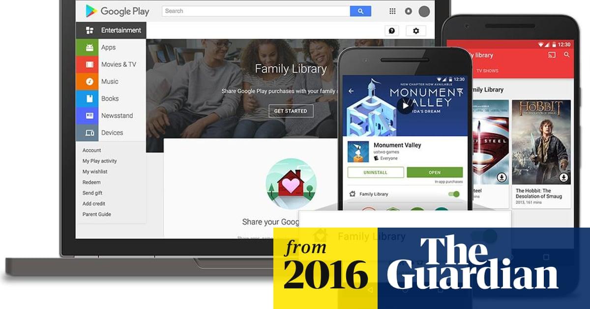 Google rolls out family sharing in Google Play | Technology | The