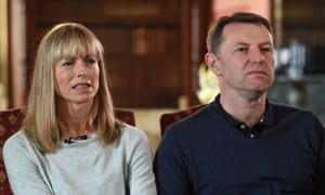 Kate and Gerry McCann in 2017