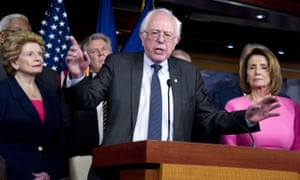 Bernie Sanders is leading Democratic attempts to protect the Affordable Care Act.