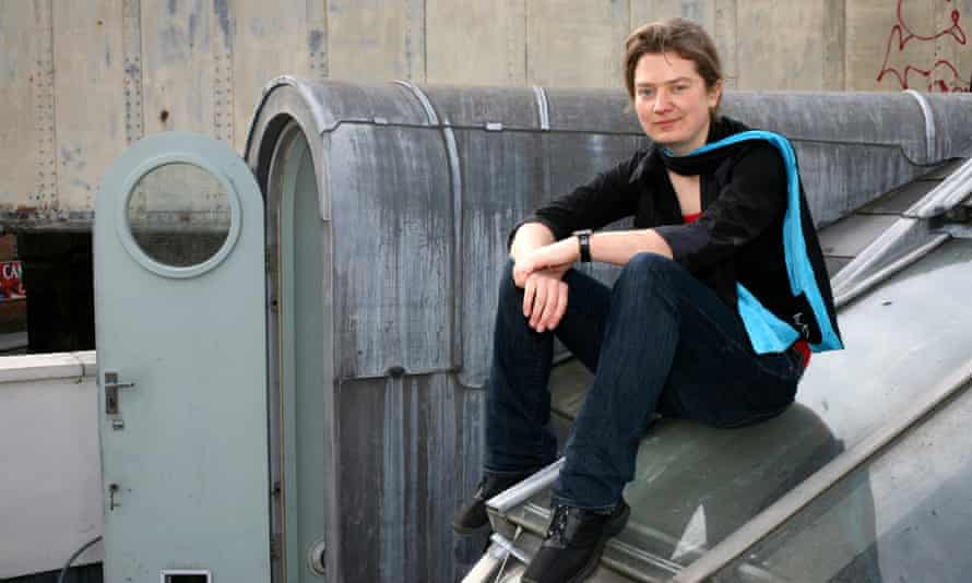 Franny Armstong, film-maker and green campaigner at home in Camden.