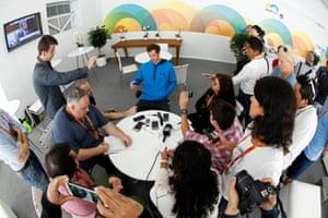 Andy Murray speaks with the media at the Miami Open.