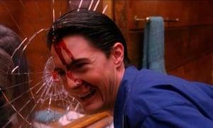 Kyle MacLachlan in Twin Peaks's alarming final scene