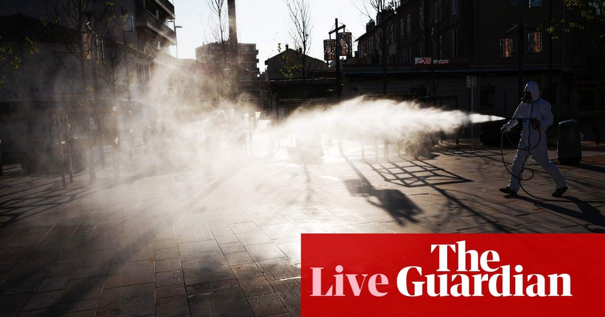 Coronavirus live news: deaths in Spain start falling again as Easter begins under lockdown – The Guardian