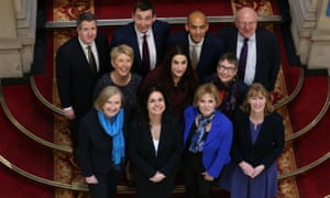 Members of the newly formed Independent Group