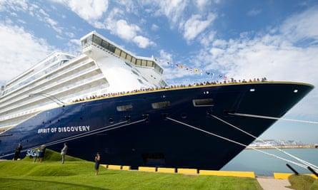 Saga's cruise ship Spirit Of Discovery