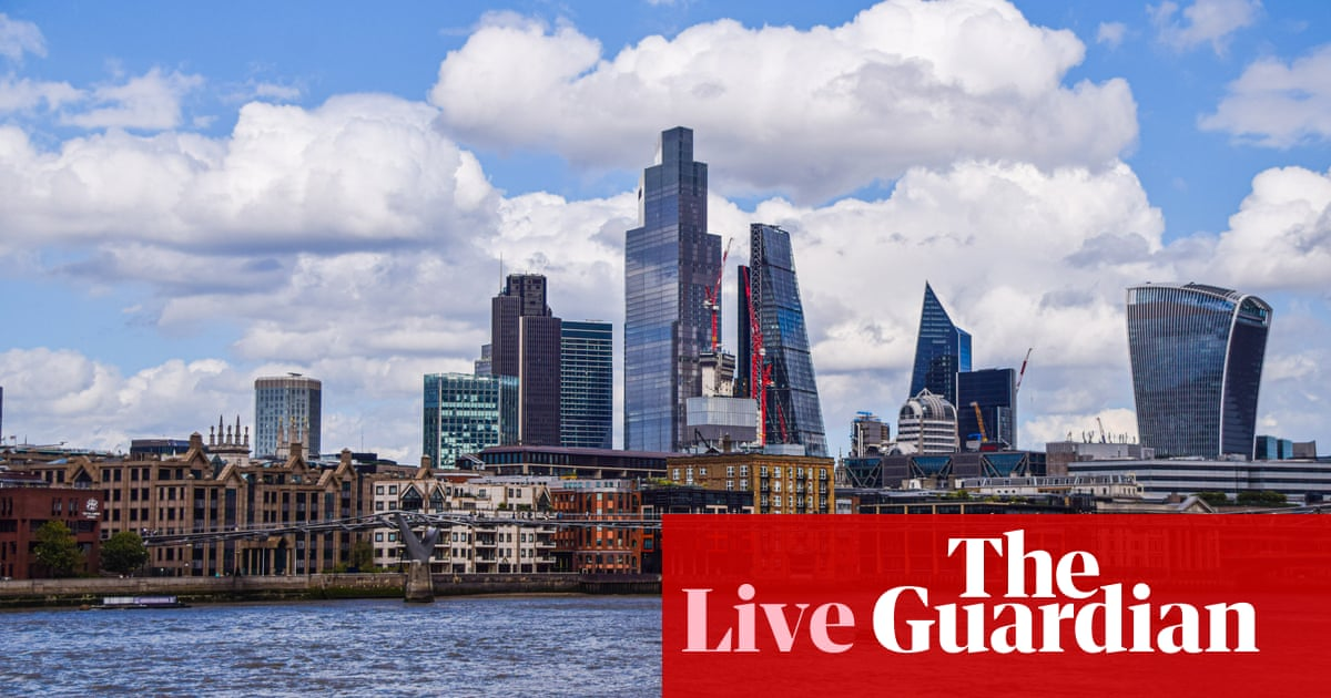Private sector growth hit by Delta variant, as markets rebound – business live