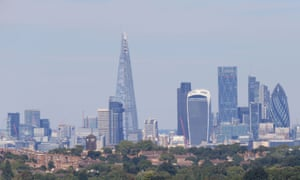 A general view of the London skyline.