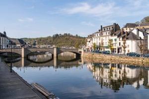The River Semois in Bouillon.
