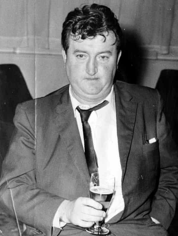 At least he's in a pub … Brendan Behan in 1961.