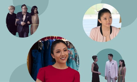 The cast of Crazy Rich Asians and To All the Boys I've Loved Before.