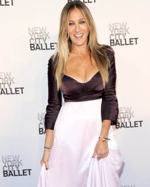 SJP at New York City Ballet's fashion gala in September; she is vice-chair of the organisation.