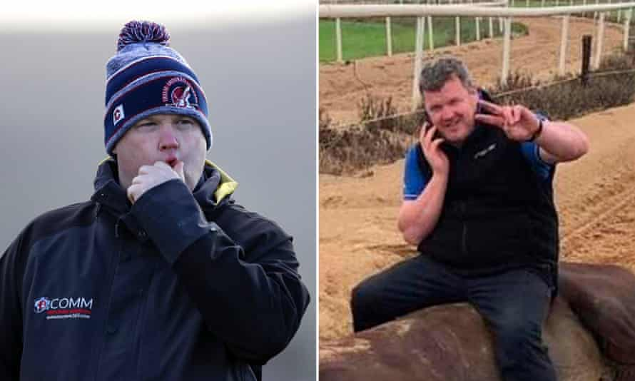 Gordon Elliott and the widely circulated photo of the trainer sitting on a dead horse