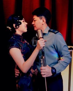 Wang Yi and Meng Youmei