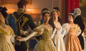 Jenna Coleman as Victoria.