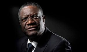 Denis Mukwege pictured in Paris in 2016.