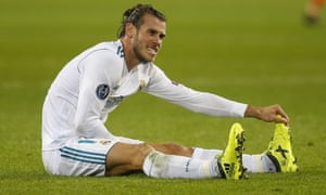 Gareth Bale was injured in the Champions League game between Real Madrid and Borussia Dortmund last week.