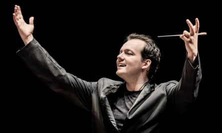 A sense of architecture … Andris Nelsons.