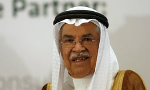 Saudi Arabia's oil minister Ali al-Naimi.