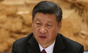 Xi Jinping at the Beijing summit