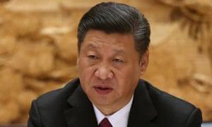 Xi Jinping at the Beijing summit