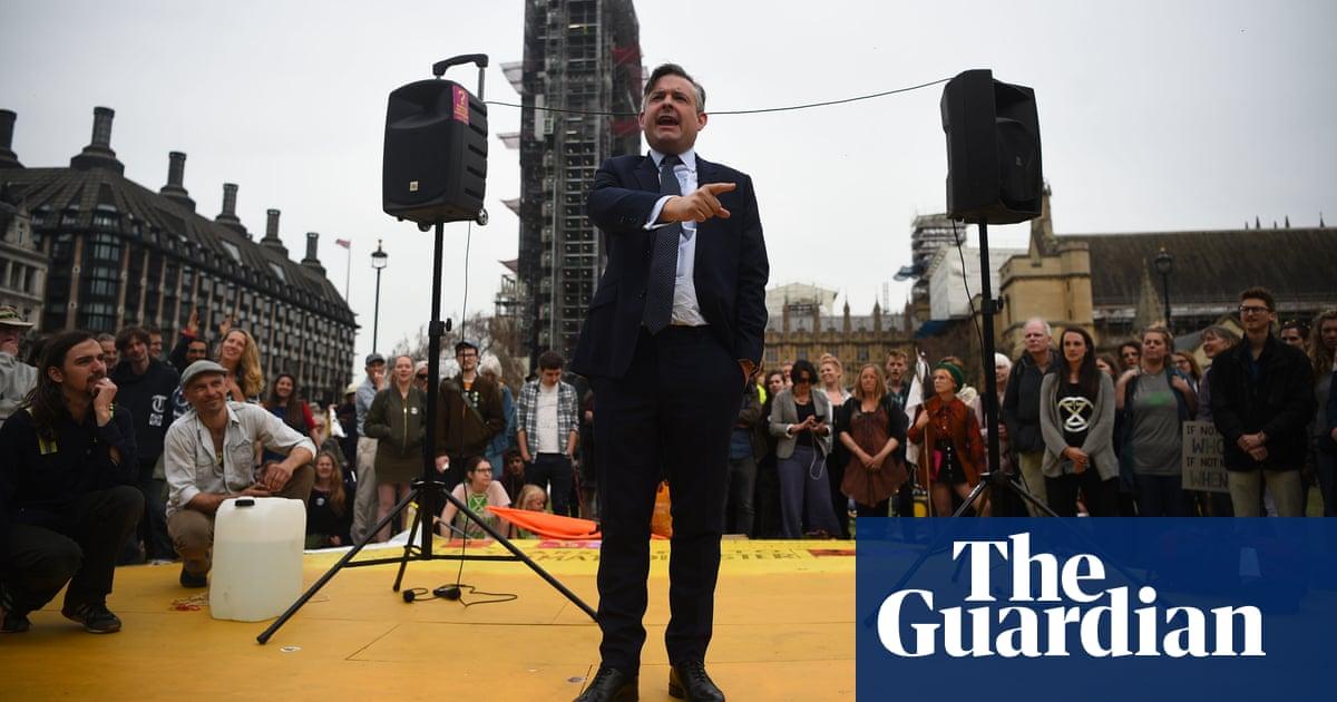 Labour endorses Extinction Rebellion activists after week of protest