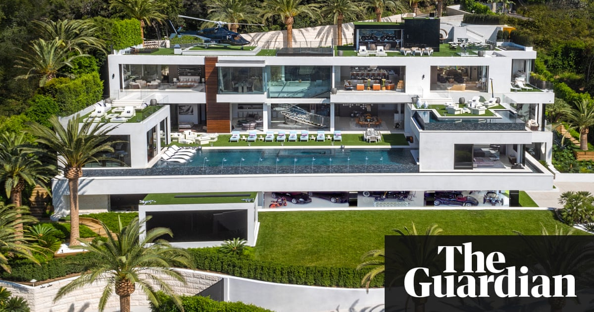 924 bel air road a look inside the most expensive house in the us video us news the guardian - Biggest House In The World Inside
