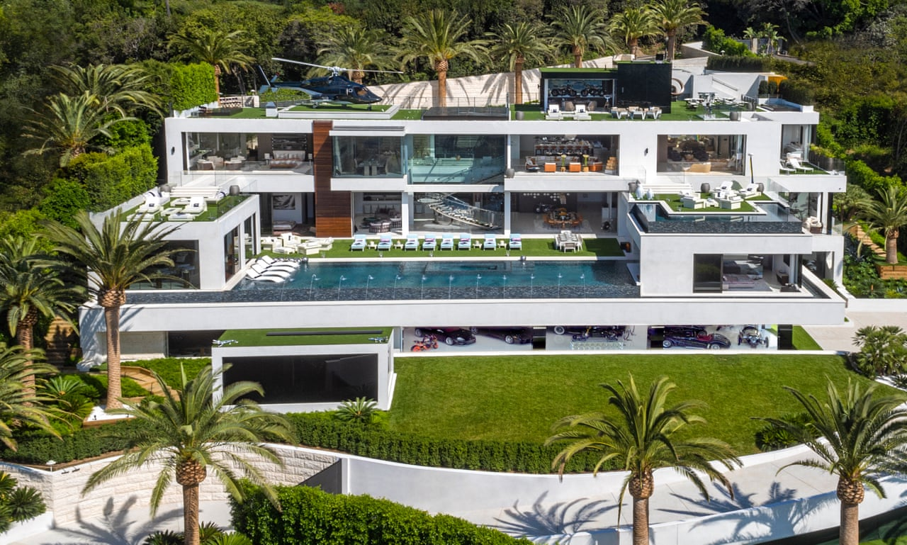 924 bel air road a look inside the most expensive house in the us video us news the guardian