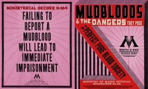 A Mudbloods pamphlet.