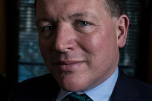 Damian Collins in his office at Portcullis House