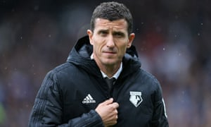 The Watford Manager, Javi Gracia.