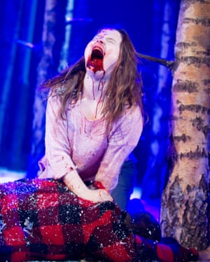 Rebecca Benson as Eli Let The Right One In.